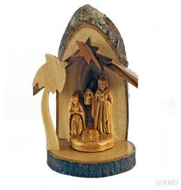 Serrv Petite Olivewood Nativity