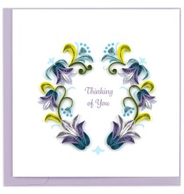 Quilling Card Quilled Thinking of You Greeting Card