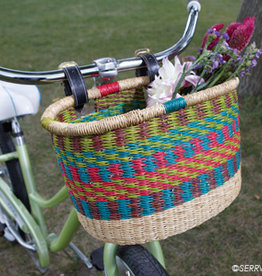 Serrv Rainbow Bike Basket