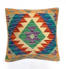 Bunyaad Pakistan Kilim Natural Dye Pillow
