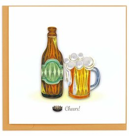 Quilling Card Quilled Birthday Beer Card