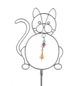 Serrv Frisky Kitty Bell Stake