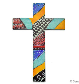 Serrv Kenyan Soapstone Wall Cross