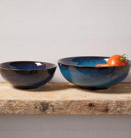 Serrv Lak Lake Ceramic Serving Bowls - Set of 2