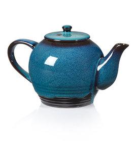 Serrv Lak Lake Ceramic Tea Infuser Teapot