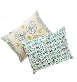 Serrv Vasanti Cotton Bedding  - Pillow Sham