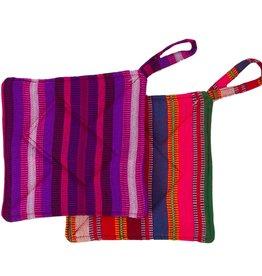 Lucia's Imports Guatemalan Woven Potholder