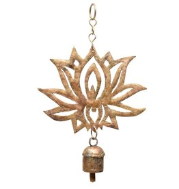 Mira Fair Trade Hand-cut Lotus Chime