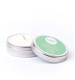 Thumbprint Artifacts SoyLites Aromatherapy Travel Tin 1.9 oz: Rejuvenation