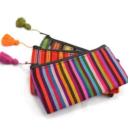 Lucia's Imports Ikat Cosmetic Bag