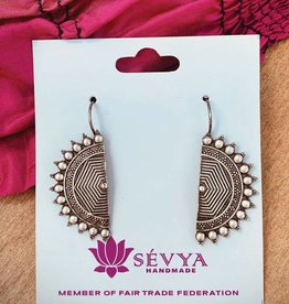 Sevya Handmade Web of Life Earrings