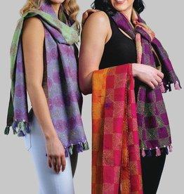 Sevya Handmade Kantha Silk Stole