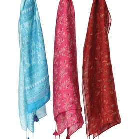 Sevya Handmade Recycled Silk Sari Scarf