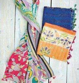 Sevya Handmade Cotton Kantha Scarf