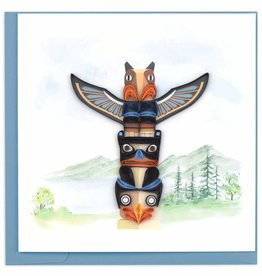 Quilling Card Quilled Totem Pole Greeting Card