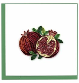 Quilling Card Quilled Pomegranate Greeting Card
