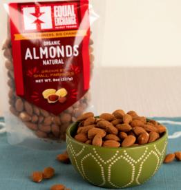 Equal Exchange Organic Natural Almonds - 8oz
