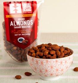 Equal Exchange Organic Tamari Roasted Almonds - 8oz