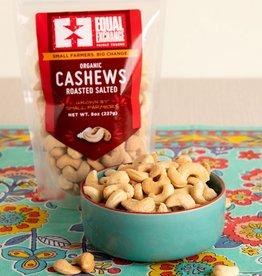 Equal Exchange Organic Roasted Salted Cashews - 8oz
