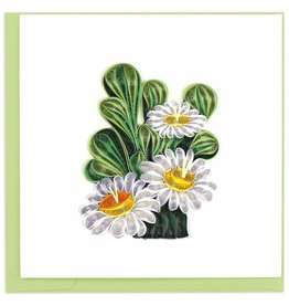 Quilling Card Quilled Saguaro Cactus Blossom Greeting Card