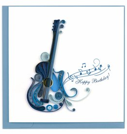 Quilling Card Quilled Birthday Guitar Greeting Card