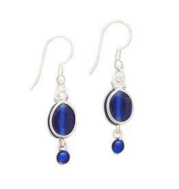 Ten Thousand Villages Blue Rhapsody Earrings