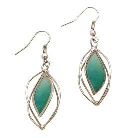 Ten Thousand Villages Precious Sage Earrings