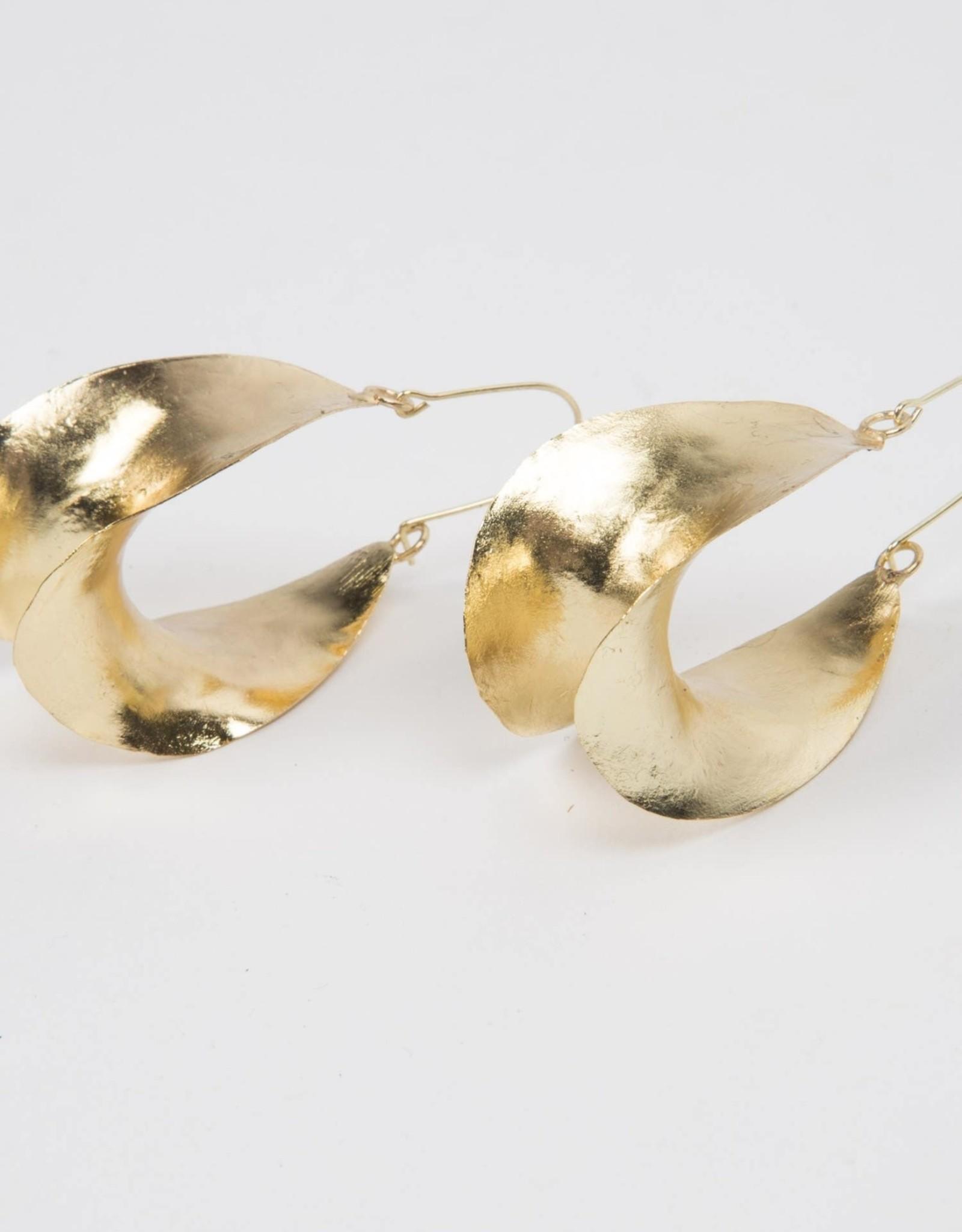 Ten Thousand Villages Abstract Art Earrings