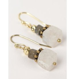 Ten Thousand Villages Stacking Stones Earrings