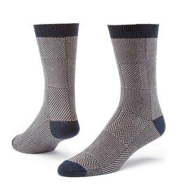 Maggie's Organics Organic Cotton Trouser Sock - Patchwork