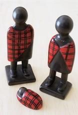 Venture Imports 3 Piece Maasai Nativity