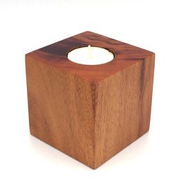 Women of the Cloud Forest Tropical Hardwood Candle Block