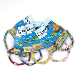 Women of the Cloud Forest Kids Stretchy Rainforest Bracelet