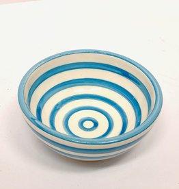 Sobremesa Blue Spiral Small Ceramic Dish