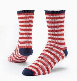 Maggie's Organics Organic Cotton Trouser Sock - Striped
