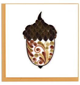 Quilling Card Quilled Acorn Greeting Card