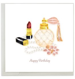 Quilling Card Quilled Birthday Glam Greeting Card