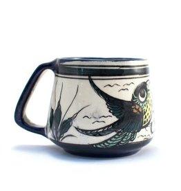 Lucia's Imports Wild Bird Beer Mug