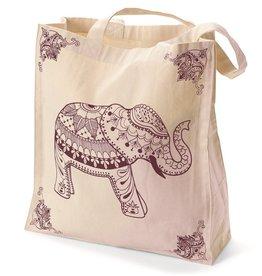 Serrv Elephant Tote Bag