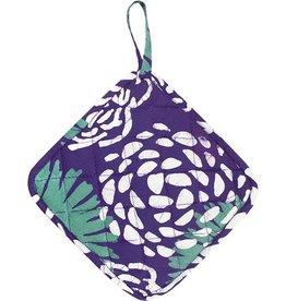 Global Mamas Pot Holder Garden - Eggplant