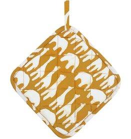 Global Mamas Pot Holder Sahara - Mustard
