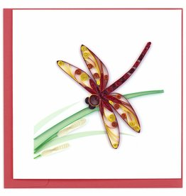 Quilling Card Quilled Dragonfly Greeting Card
