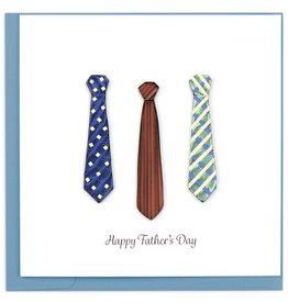 Quilling Card Quilled Father's Day Ties Greeting Card