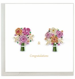 Quilling Card Quilled Two Brides Wedding Card