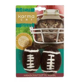Dharma Dog Karma Cat Football Wool Cat Toy