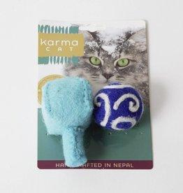 Dharma Dog Karma Cat Hanukkah Wool Cat Toy