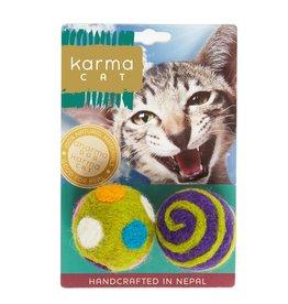 Dharma Dog Karma Cat 1.5 Ball Wool Pet Toy