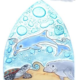 Pampeana Manatee, Dolphin, Turtle Nightlight