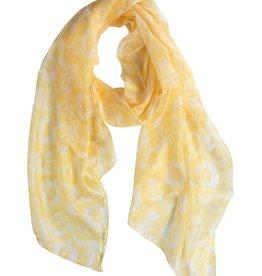 Ten Thousand Villages Buttercup Silk Ikat Scarf