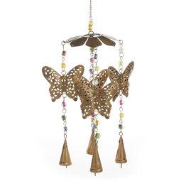 Serrv Butterfly Carousel Wind Chime